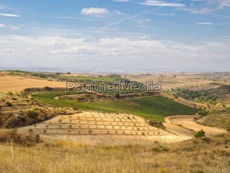 gospodarstwo rolnictwo architektura hiszpania pejzaz krajobraz
