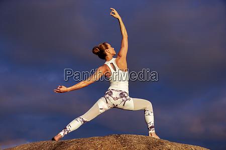 dziewczynka fitness joga kaukaski kobieta