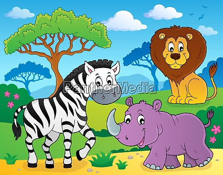 african nature theme image 4