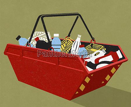 recykling, opakowań, z, tworzyw, sztucznych, w - 26012116