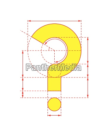 yellow question mark on foldable paper