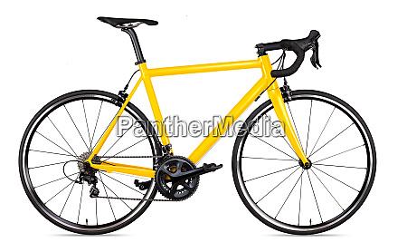 zolty czarny sport wyscigowy szosowy rower