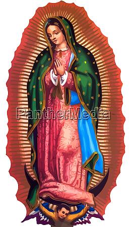 dama z guadalupe meksyk swieta wiara