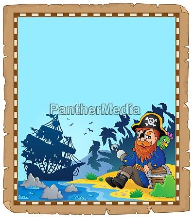 pirate topic parchment 1