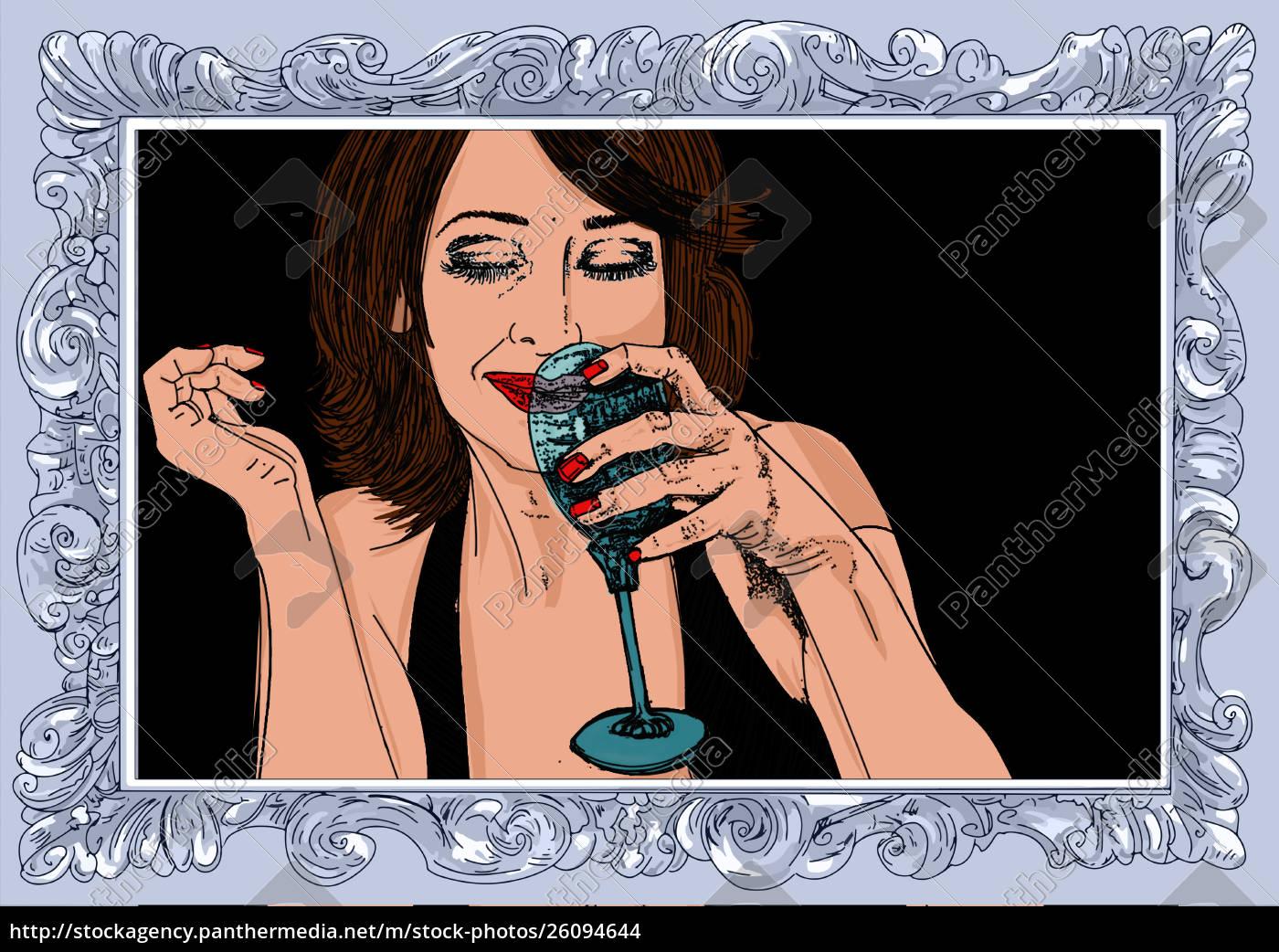 , kobieta, erotyczne, , wyrafinowana, i, zmysłowa - 26094644