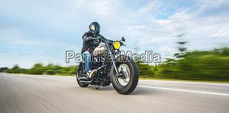 motocykl na drodze jazdy zabawy jazdy