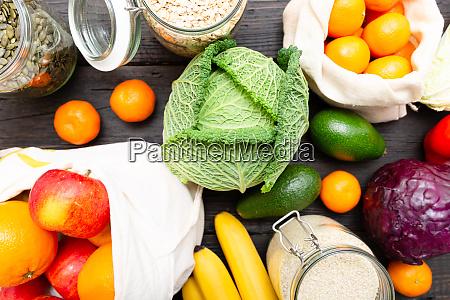 zero odpadow zakupy spozywcze jedzenie bez