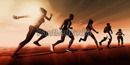 sport streszczenie tlo