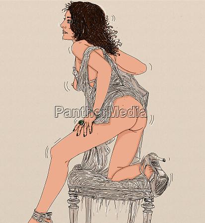 kobieta erotyczne wyrafinowane i zmyslowe