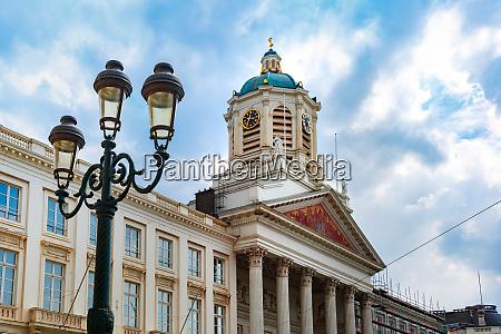 plac krolewski w brukseli belgia