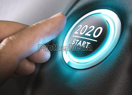 rok 2020 start dwa tysiace dwadziescia