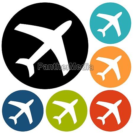 symbol samolotu