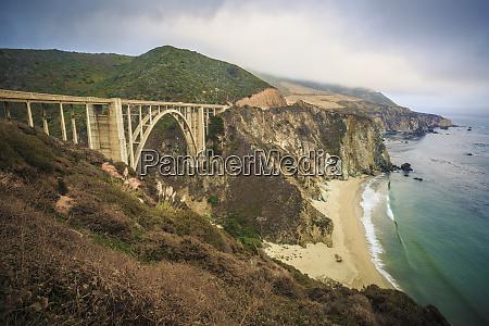 stany zjednoczone kalifornia big sur pacific