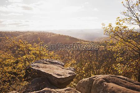germany rhineland palatinate pfalz view from