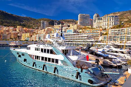 port jachting monte carlo i widok
