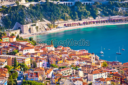 villefranche sur mer idylliczny francuski riwiera