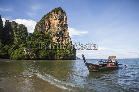 railay beach near krabi thailand offers