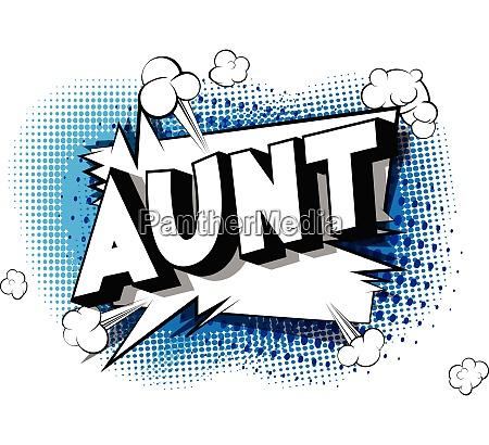 ciocia komiks fraze stylu ksiazki