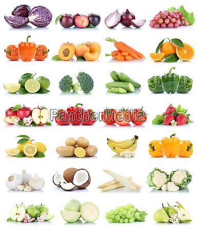 banan owoce i warzywa kapusta jablko