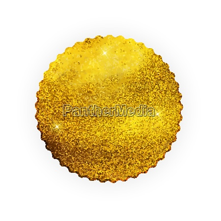 premium quality shiny golden label luxury