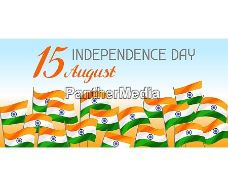 transparent z okazji dnia niepodleglosci indii