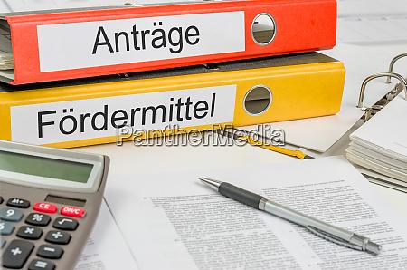 foldery z niemiecka etykieta antraege und