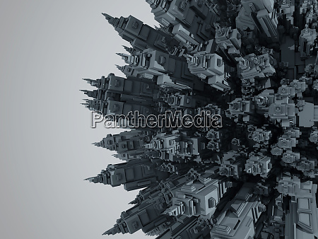 3d renderowane ilustracja kreskowki planety wypelnione