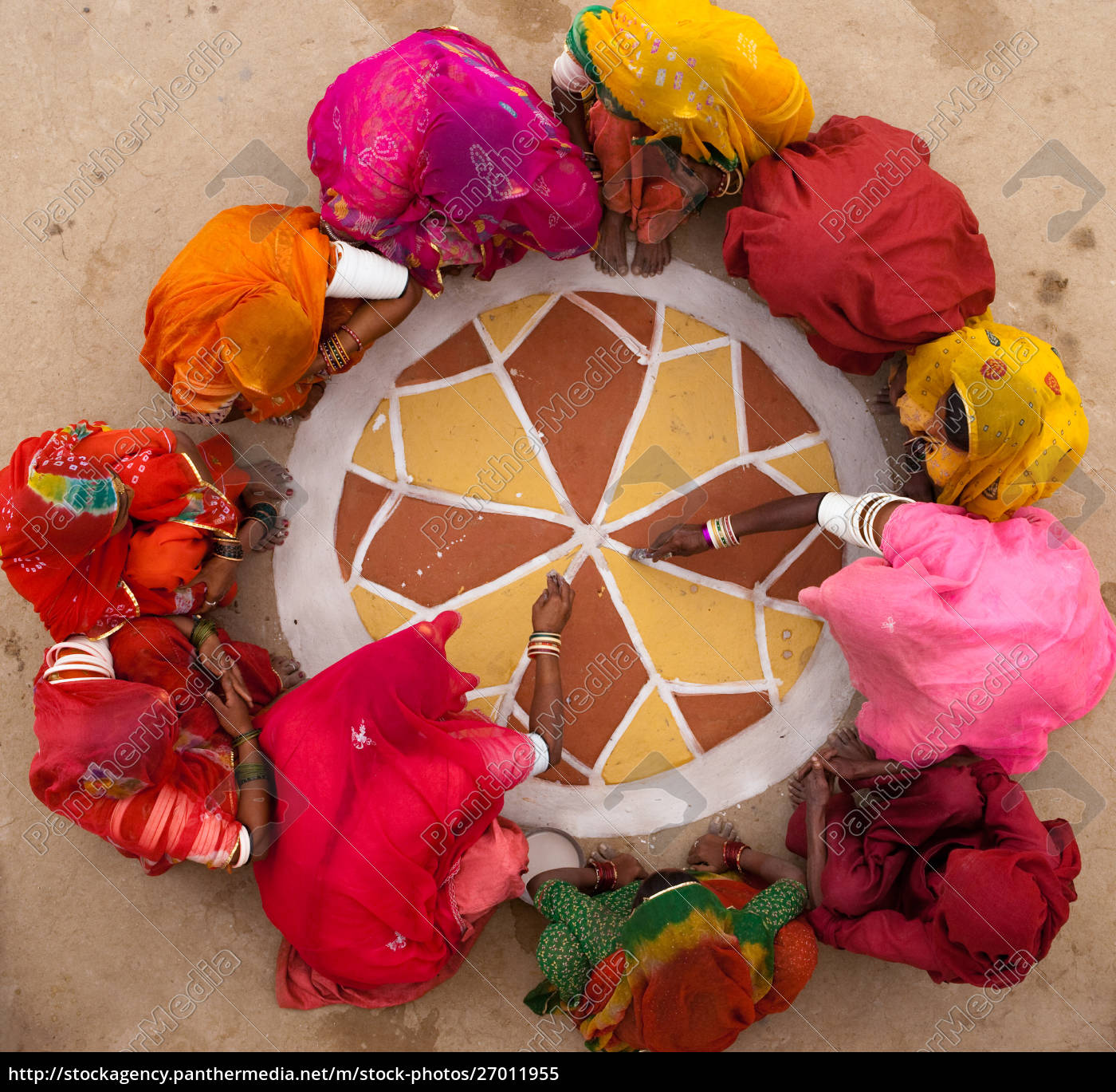 life, in, a, small, rajasthan, village, - 27011955