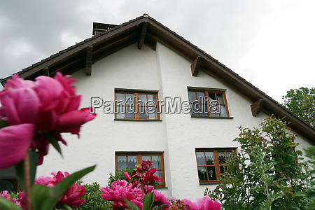 detached house in country style with