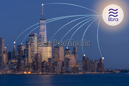 libra currency in new york usa