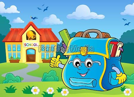 happy schoolbag topic image 6