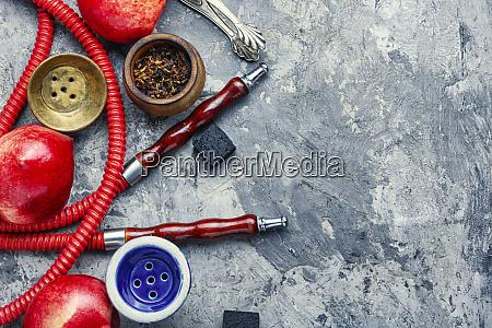 hookah, z, brzoskwiniowym, smaku - 27231666