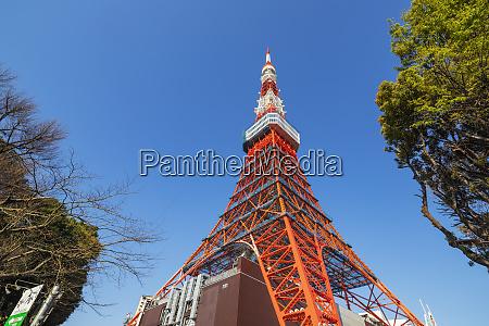 tokyo tower roppongi tokyo japan asia