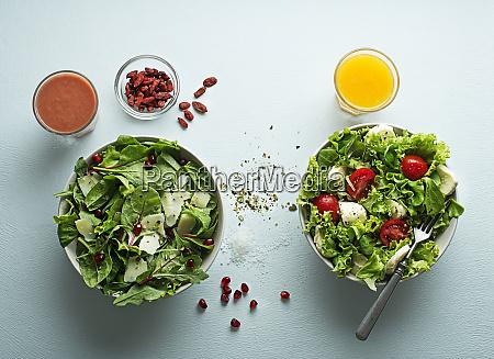 posilek salatkowy
