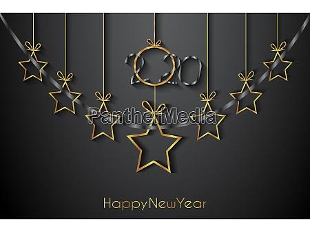 2020 happy new year tlo dla