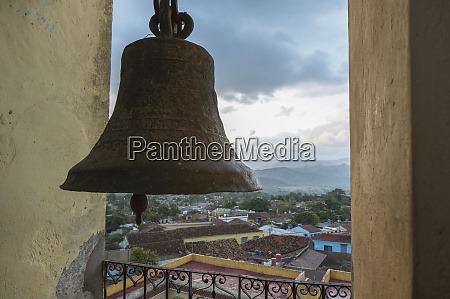cuba trinidad view of town from