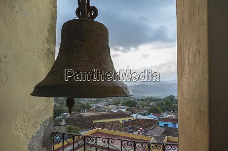 kuba, trynidad., widok, na, miasto, z, dzwonnicy - 27329192