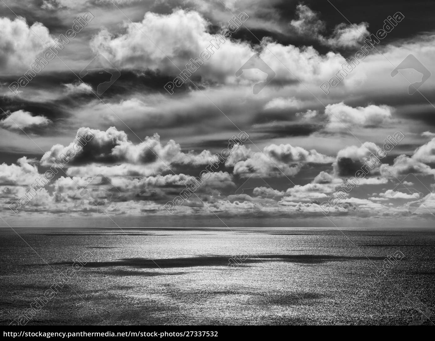 stany, zjednoczone, kalifornia, la, jolla, przybrzeżne, chmury, na, pacyfiku - 27337532