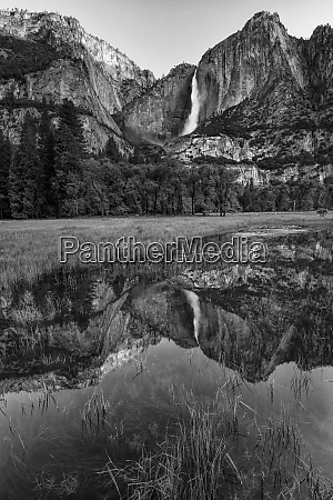 usa california yosemite national park black