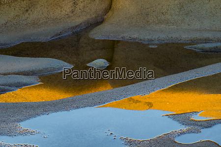 usa california abstract designs of rocks