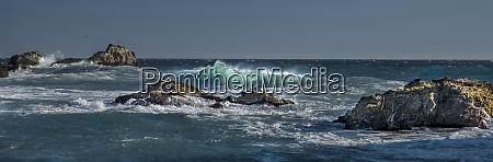 pfeiffer beach big sur california crashing