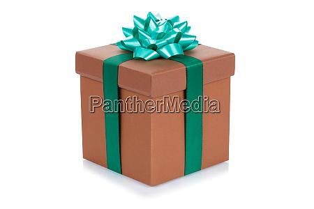 prezent urodzinowy prezent swiateczny brazowy pudelko