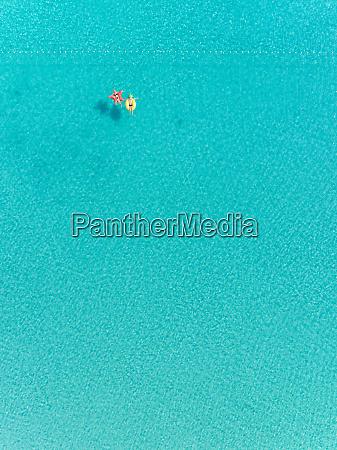 abstrakcyjny widok z lotu ptaka na