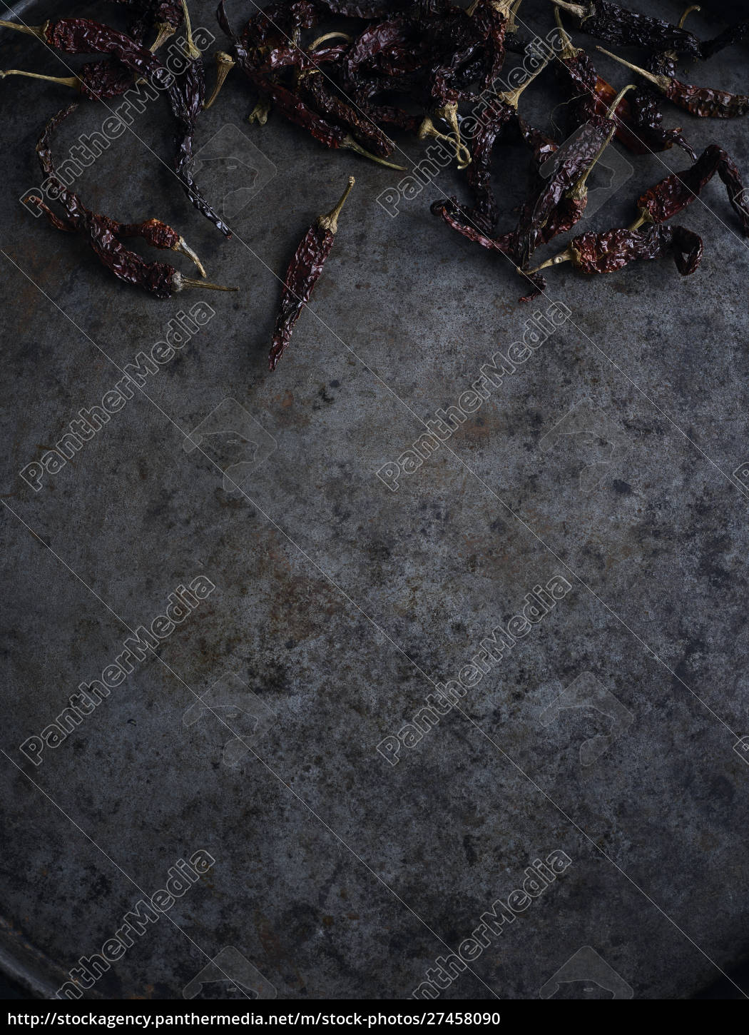 rustic, still, life, with, scattered, dried - 27458090