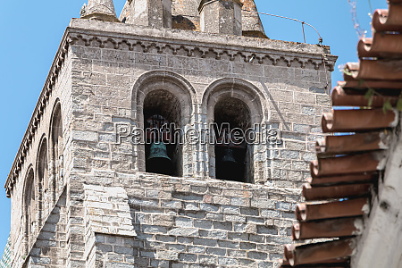architectural detail of the cathedral basilica