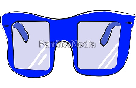 an optical glasses vector or color