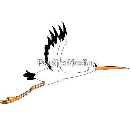 clipart of a stock bird at