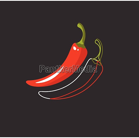 portrait of red hot chilly peppers
