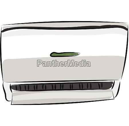 clipart of an air conditioner vector