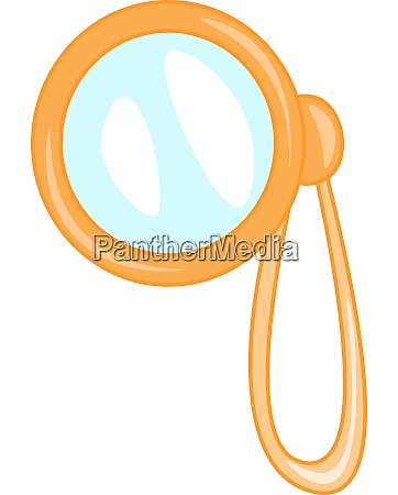 a monocle vector or color illustration